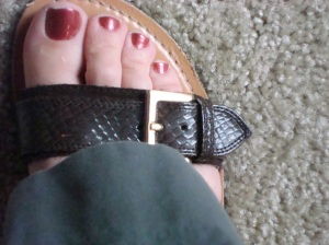 Flip-flap-flops and other wardrobe casualties
